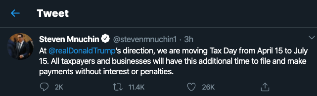 Tax Day Moving